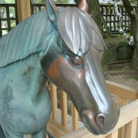 青銅の神馬